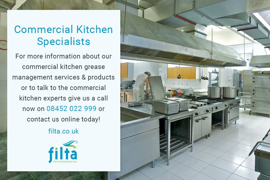 Commercial Kitchen Specialist - Filta Environmental