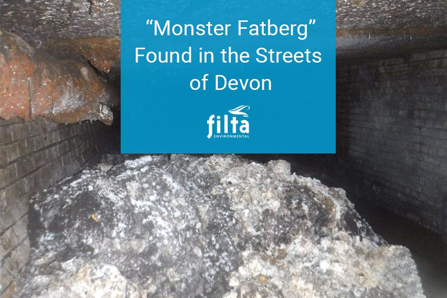 Monster Fatberg Found in the Streets of Devon - Filta Environmental