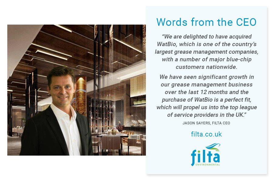 CEO Filta - WatBio - Filta Environmental UK