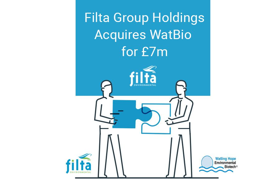 Filta Group Holdings Acquires WatBio for £7m - Filta Environmetal UK