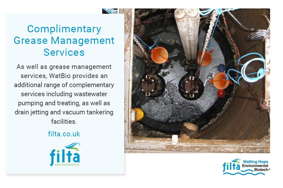 Grease Management Services - Filta Environmental UK