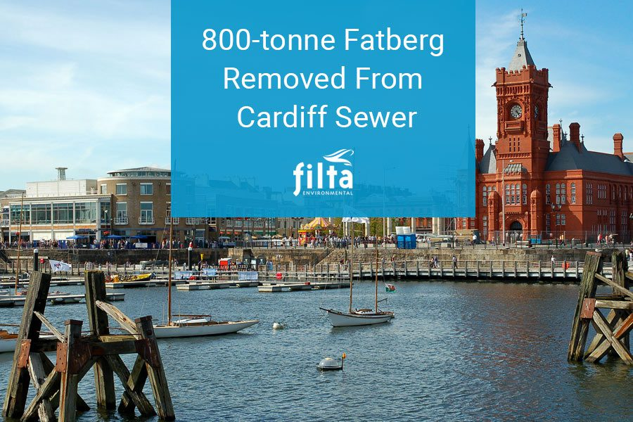 800-tonne Fatberg Removed From Cardiff Sewer - Filta Environmental UK