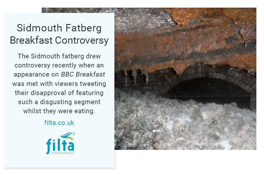 Sidmouth Fatberg - BBC - Filta Environmental UK
