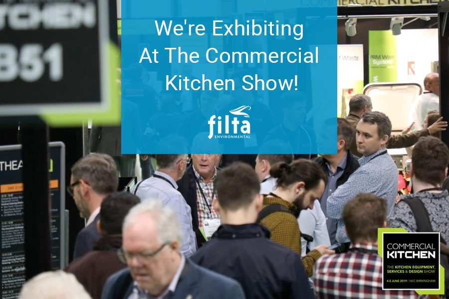 Commercial Kitchen Show 2020 - Filta Environmental - UK