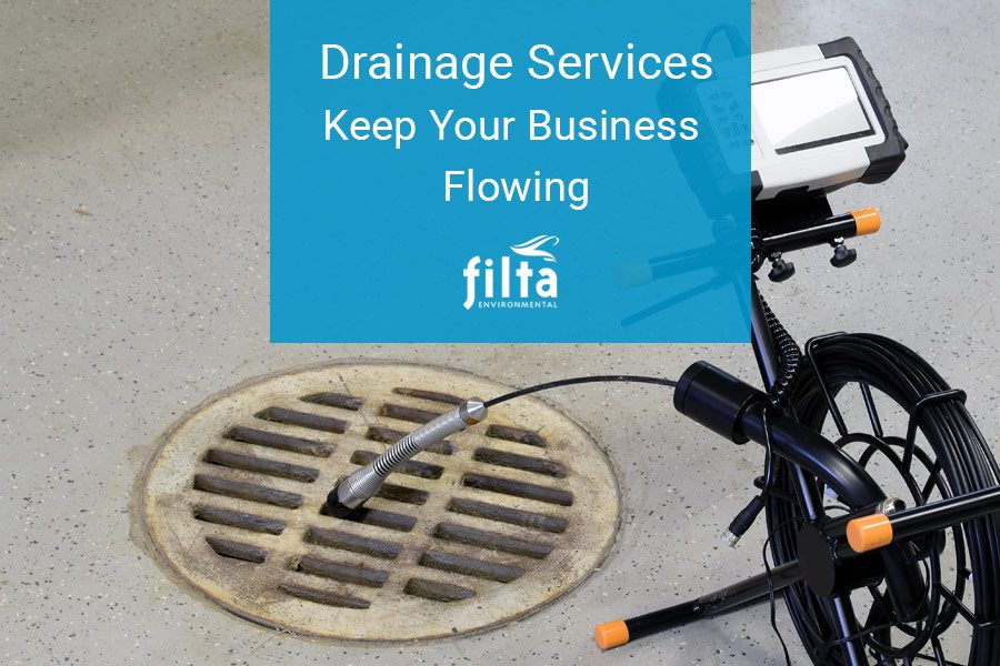 Drainage Services - Drain Blockages - Filta Environmental UK