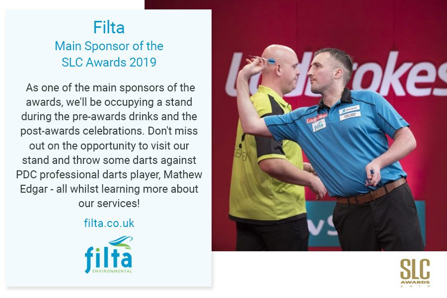 Filta Main Sponsor SLC Awards - 2019 - Filta Environmental