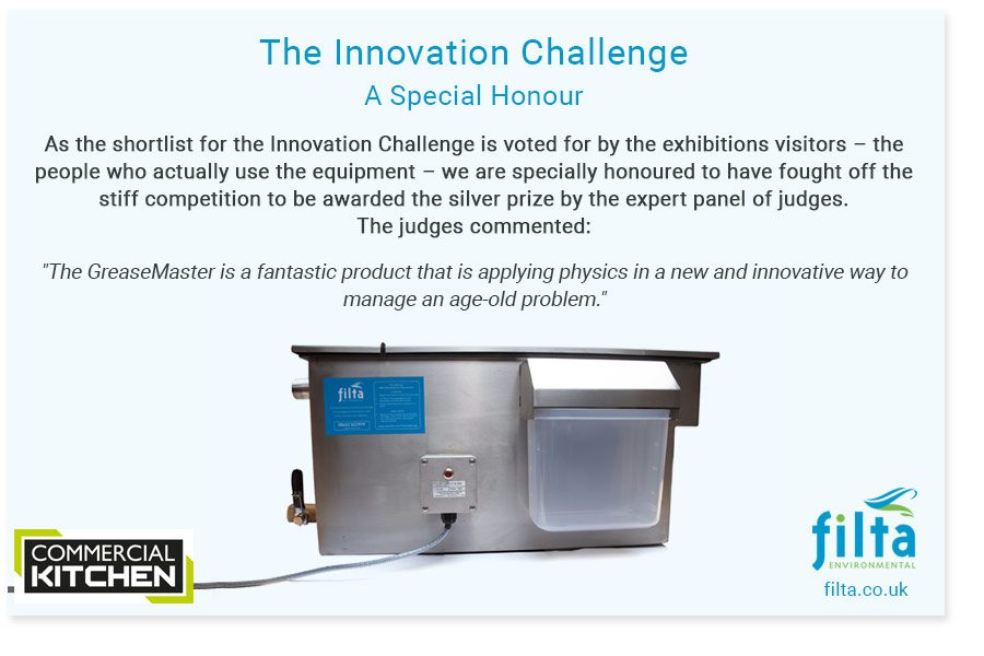 Greasemaster - Innovation Challenge - Filta Environmental UK