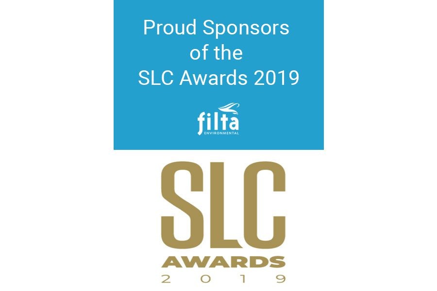 Proud Sponsors SLC Awards 2019 - Filta Environmental - UK