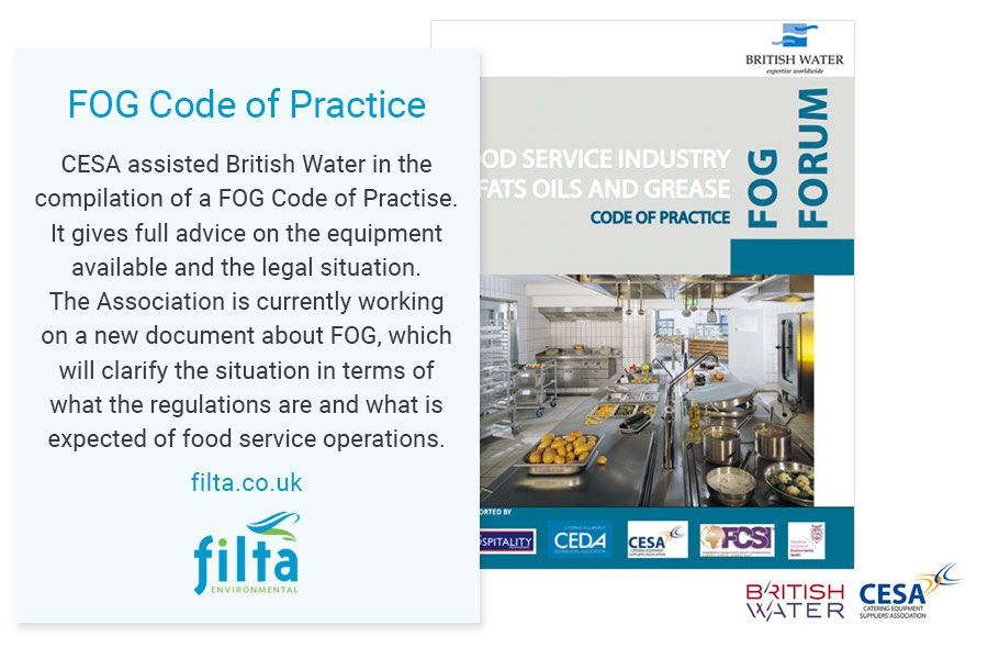 FOG Code of Practice - British Water - Filta Environmental - UK