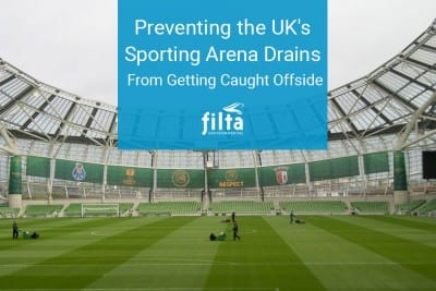 Preventing Drains - Sporting Arena - Filta Environmental