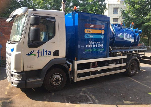 Drain Jetting and Descaling - Filta Environmental