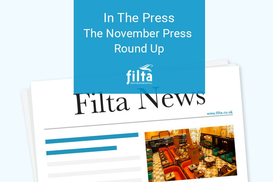 Commercial Kitchen Solutions - Filta Press Round Up November