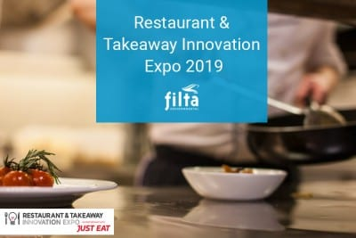 Restaurant and Takeaway Innovation Expo 2019 - Filta Environmental - Commercial Kitchens UK