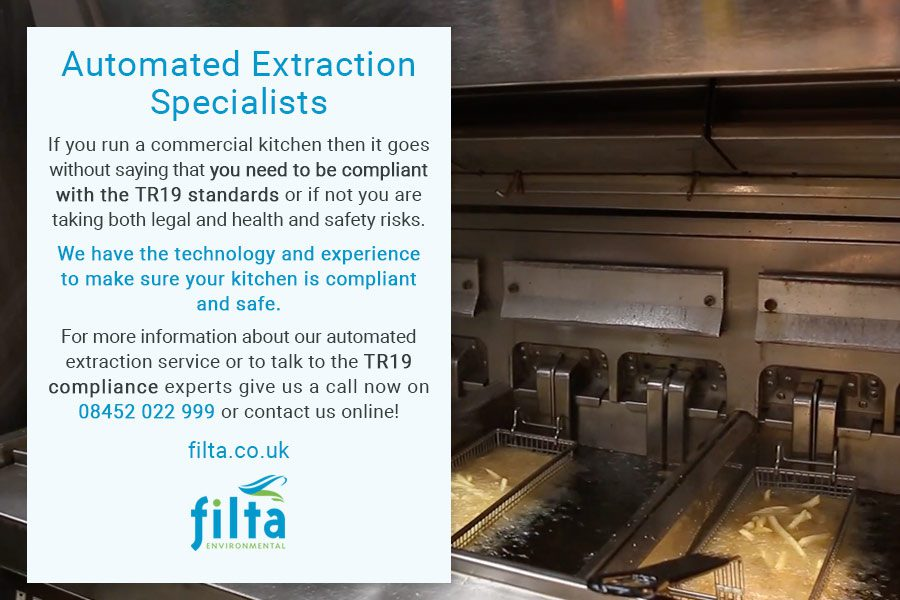 Automated Extraction Cleaning Specialists - TR19 Compliance - Filta Environmental - UK