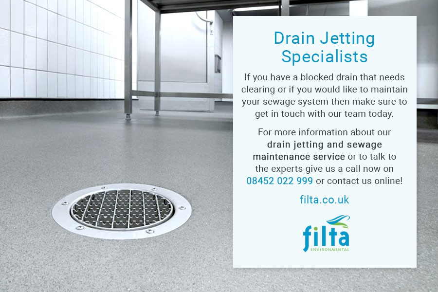 Drain Jetting Specialist UK Drain Clearing - Filta Environmental