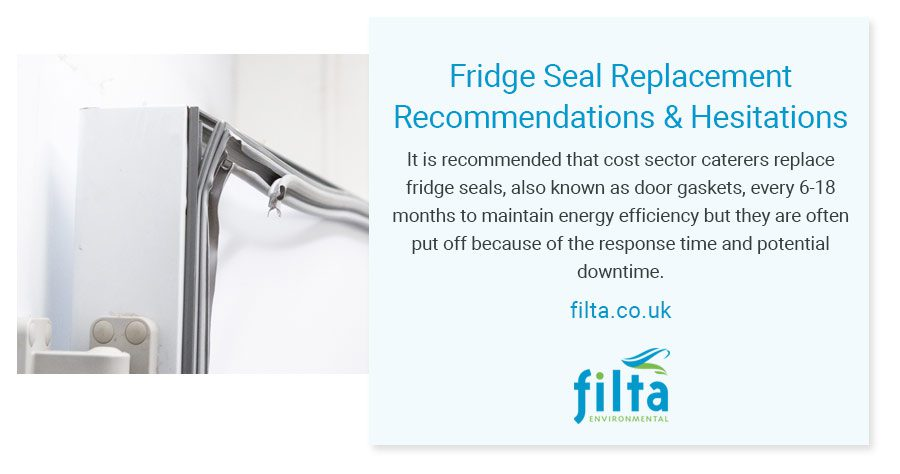 Fridge Seal Replacement Recommendations - Filta Commercial Kitchens - UK