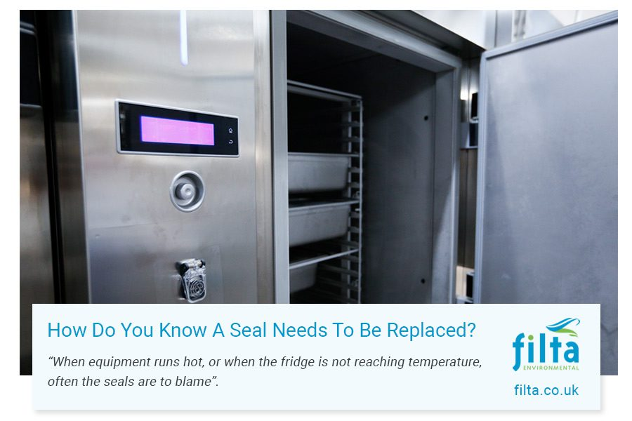 How do you know when a refrigeration seal needs to be replaced - Filta