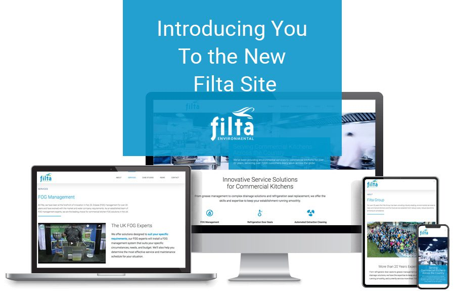 New Filta Website Site Launch - Filta Environmental UK