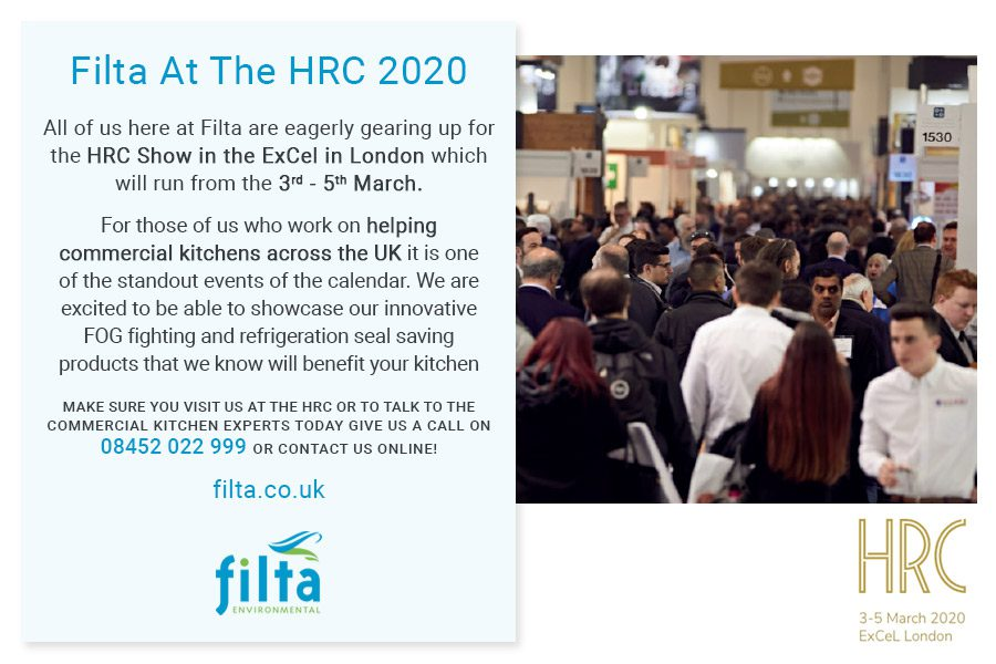 Filta Environmental at the HRC - London ExCel March 2020