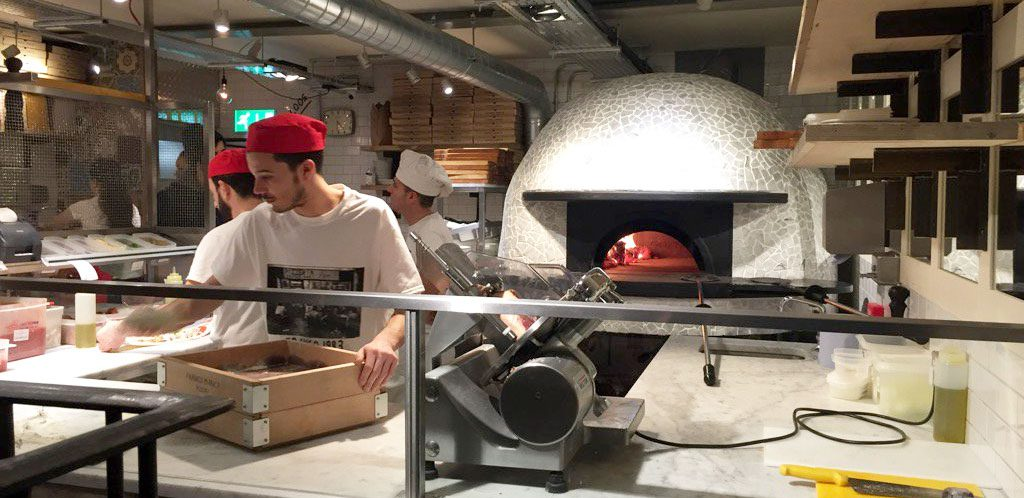 Franco Manca - Grease Management Solution - Wood-fired Oven