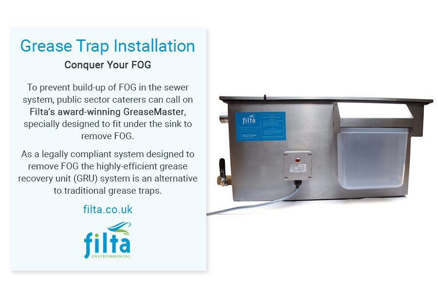 Grease Trap Installation - Filta Environmental UK