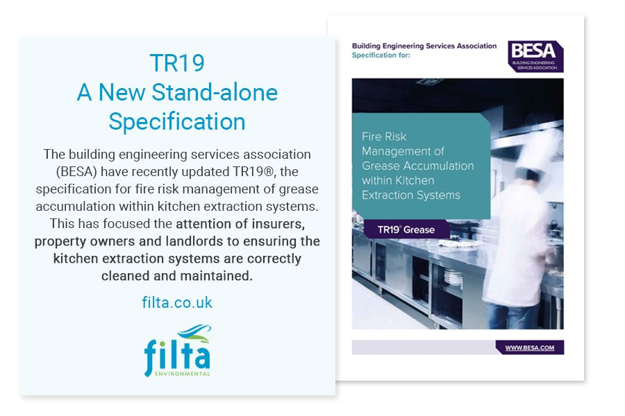 TR19 Duct Cleaning Specification - Filta Commercial Kitchens - UK