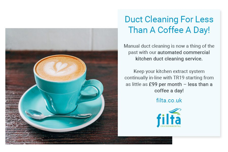 Duct Cleaning Commercial Kitchens UK - Filta Environmental