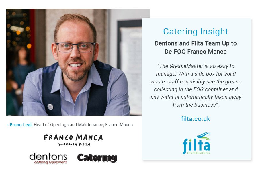 FOG - Franco Manca Review - Filta Environmental UK