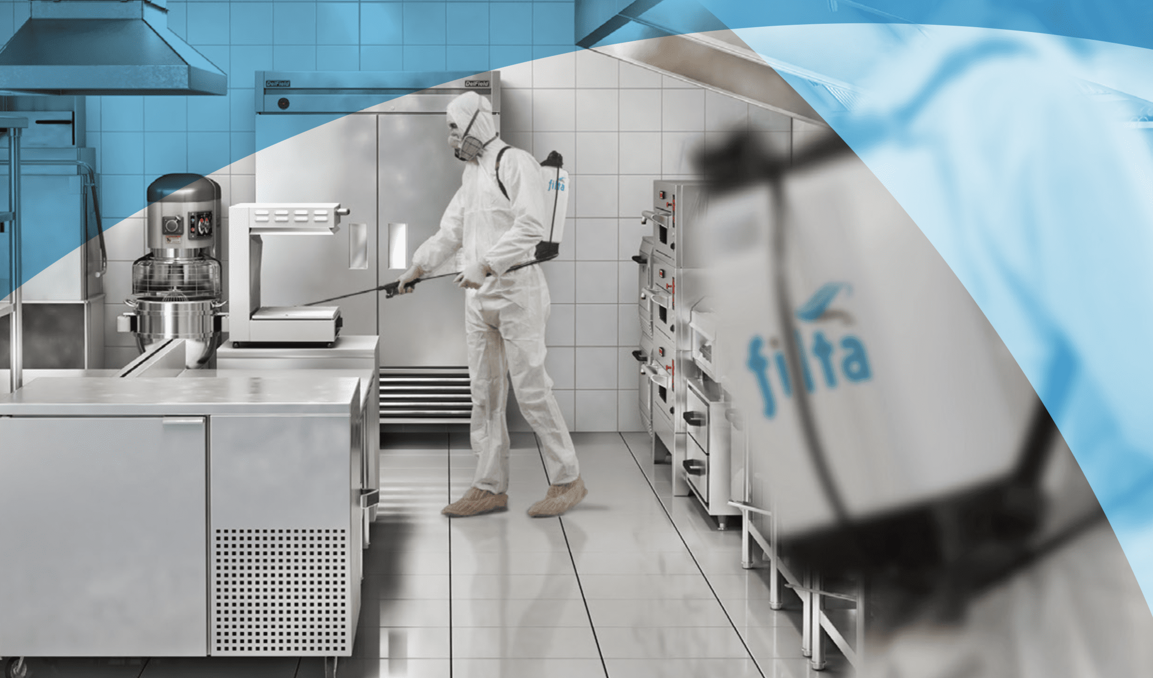 Coronavirus cleaning kitchen - Filta environmental