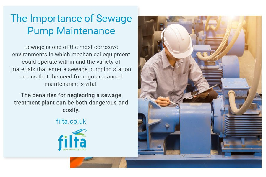 Importance of Sewage Pump Maintenance - Filta UK