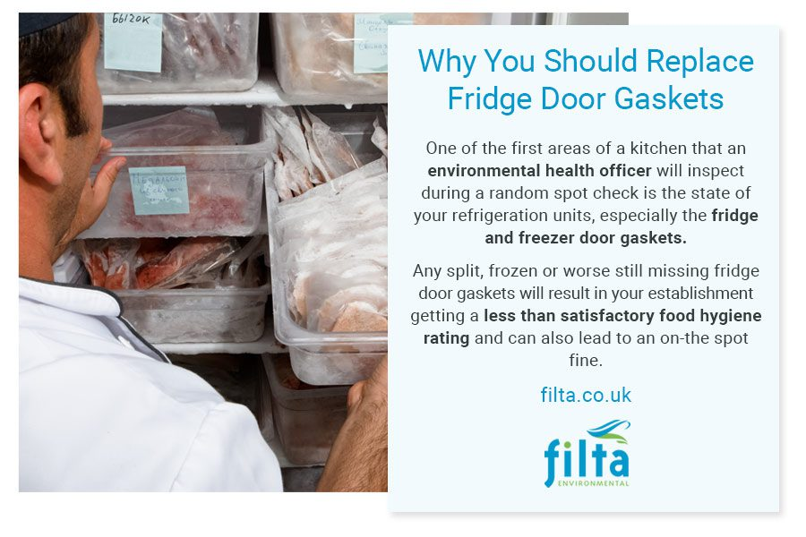 Replace Fridge Door Gaskets - UK - Professional Kitchens