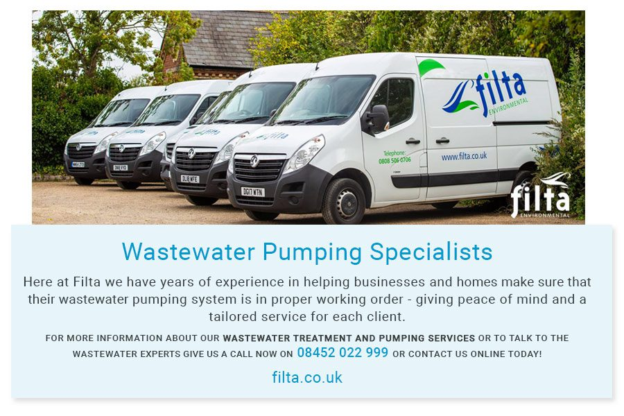 Wastewater Pumping Specialist - Filta UK