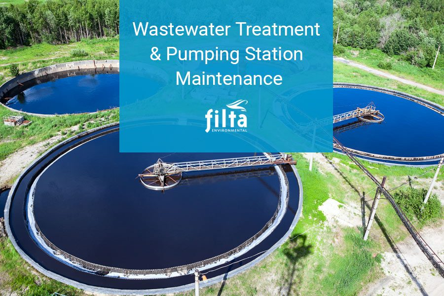 Wastewater Treatment & Pumping Station Maintenance - Filta Environmental UK