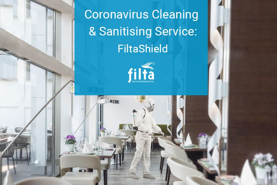 Coronavirus Cleaning and Sanitising Service - FiltaShield - UK