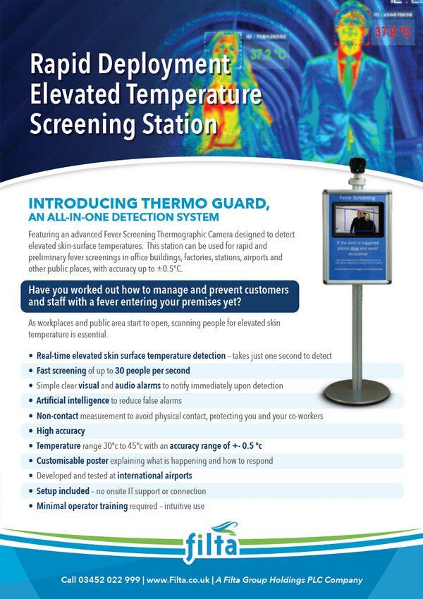Filta Thermoguard Screening Stations