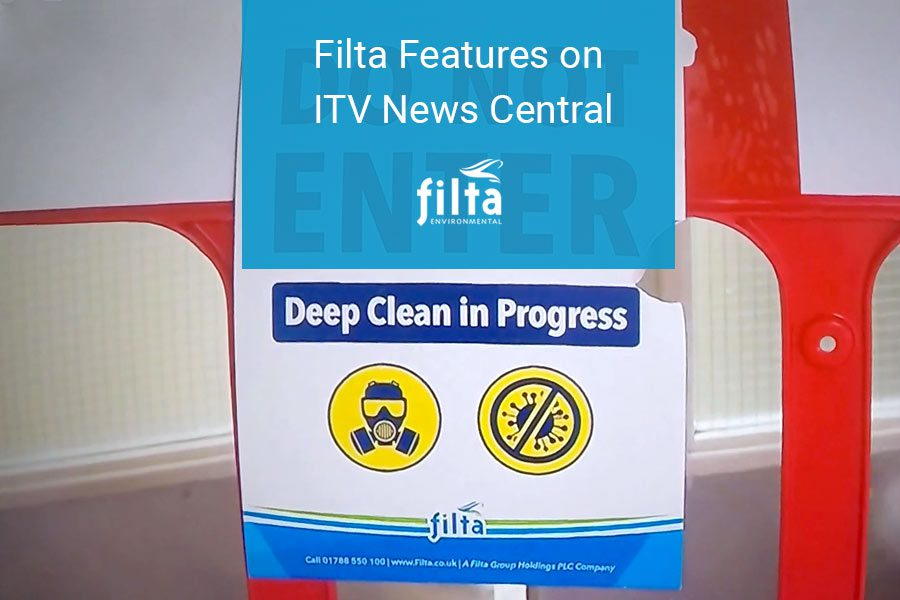 Filta Features on ITV News Central - Covid-19