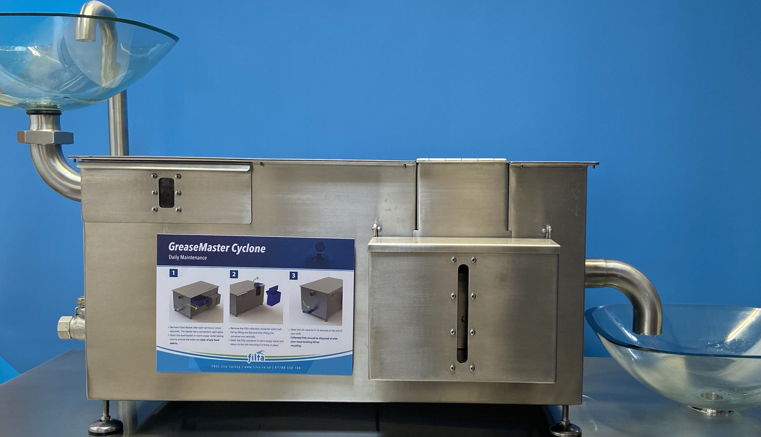 Greasemaster Cyclone - Grease Recovery Unit - Grease Management - Filta Environmental UK