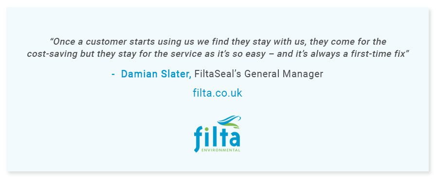Fridge Door Seals Replacement - Damian Slater Quote - Filta UK