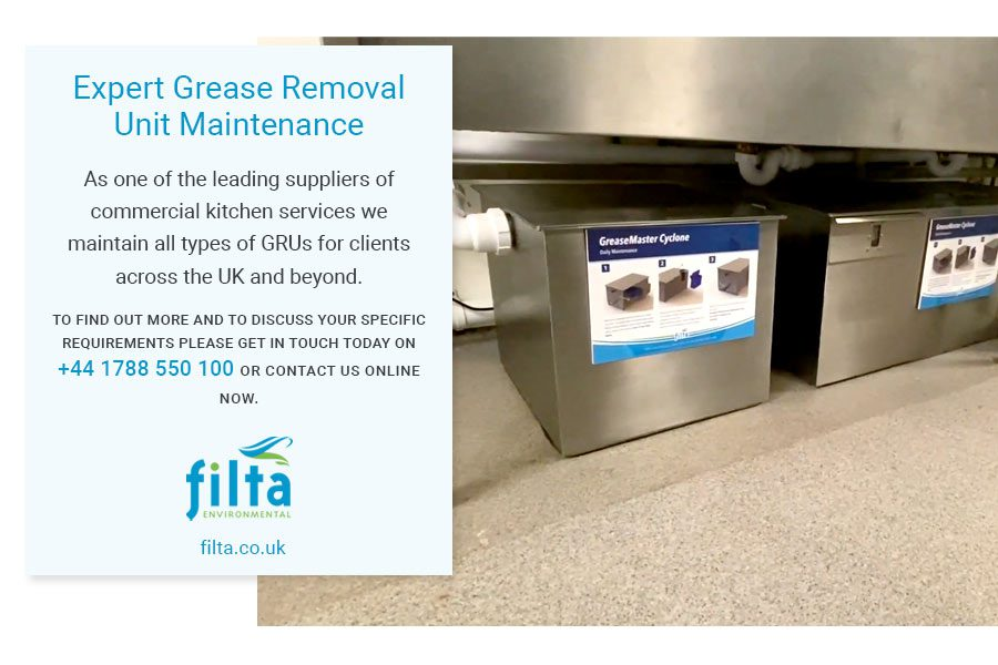 Expert Grease Removal Unit Maintenance - Filta Commercial Kitchen UK