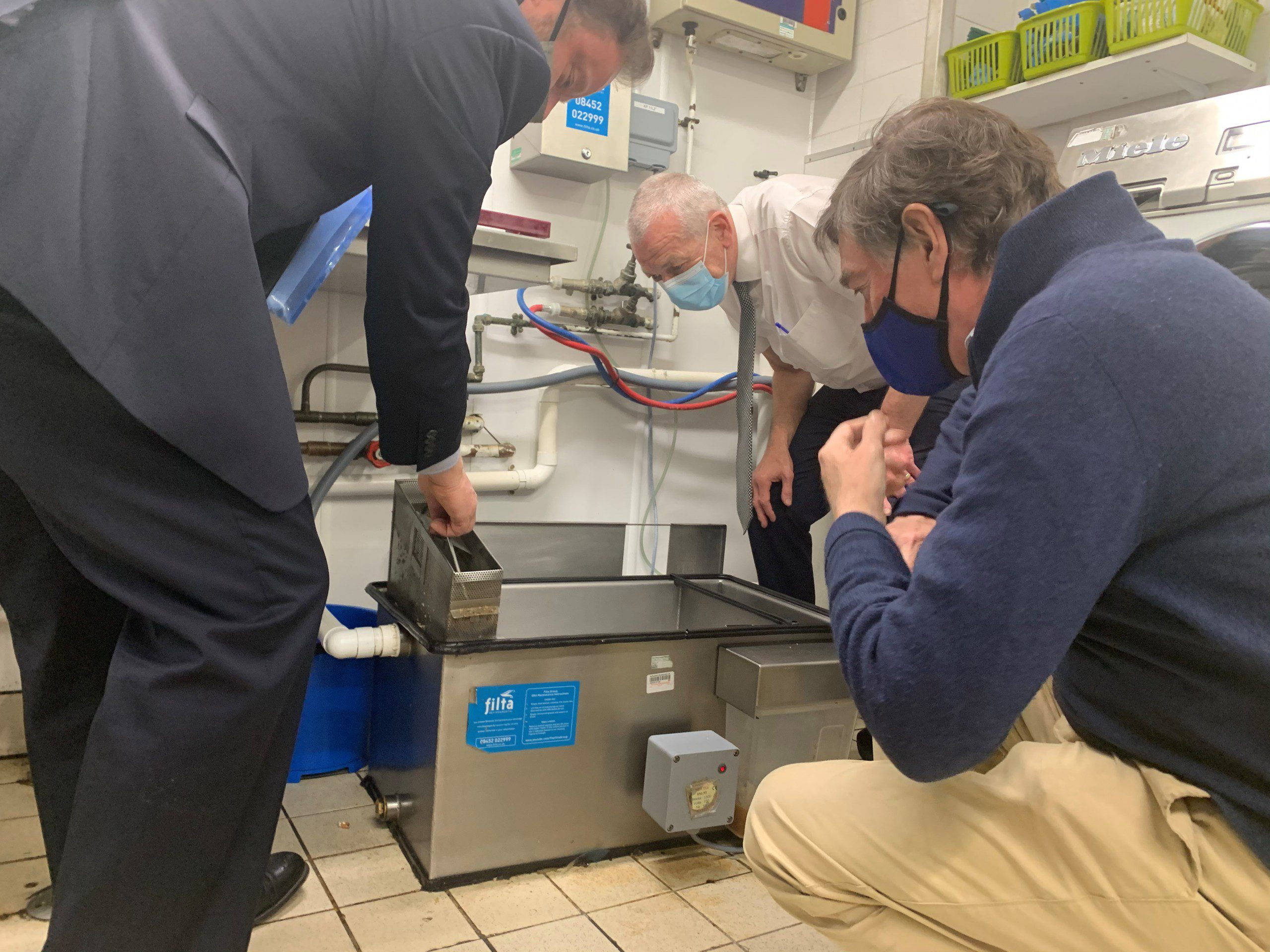 Sewage Bill - Philip Dunne MP UK - Filta Environmental